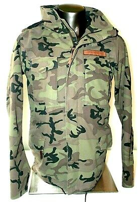 d8cc1b94a5f4e Holden Hooded Deck Jacket Mens Unisex Coat Ski Snowboard Skiwear Sz Small S  Camo