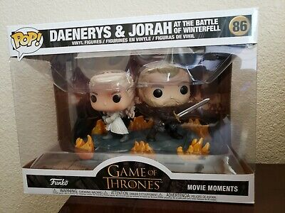 Funko Pop! Moments Game Of Thrones Daenerys And Jorah With Swords (Preorder)