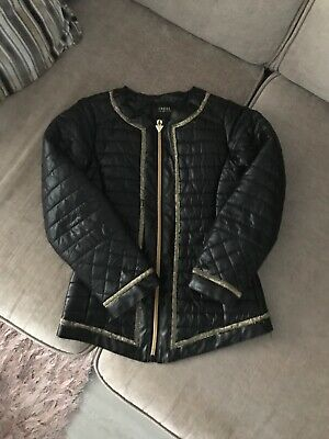 Girls Guess Stylish Leather Look Jacket Coat Age 6