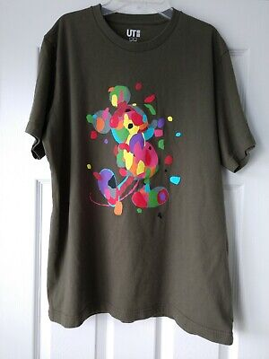 d5a170473 Uniqlo UT Disney Collection T-Shirt - Mickey Mouse by Mike Mills - Large -