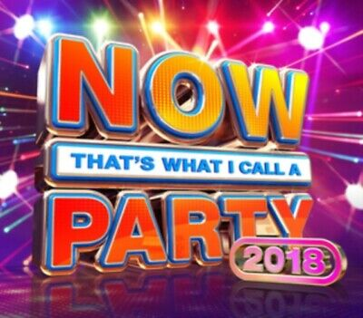 VARIOUS ARTISTS - Now Thats What I Call A Party 2018 CD *NEW & SEALED*