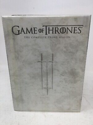 Game OF Thrones the complete third season 5-Blu-Ray Discs Free shipping
