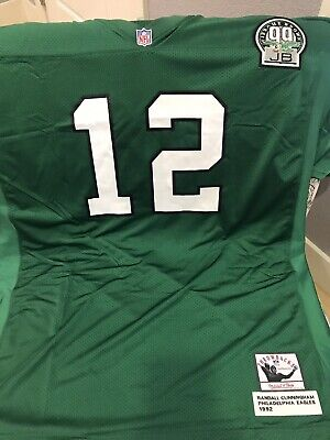 5cd095cb RANDALL CUNNINGHAM EAGLES Mitchell & Ness Authentic 1992 White NFL ...