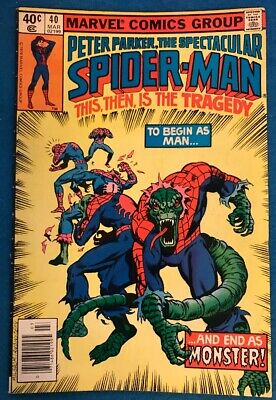 Spectacular Spider-Man 1st Series #62 1982 VG Stock Image Low Grade