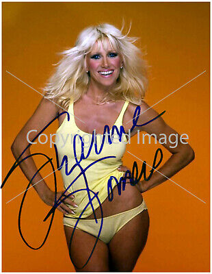 Suzanne Somers : 8.5x11 Autographed Reprint RP Photo Picture Print Sexy Busty