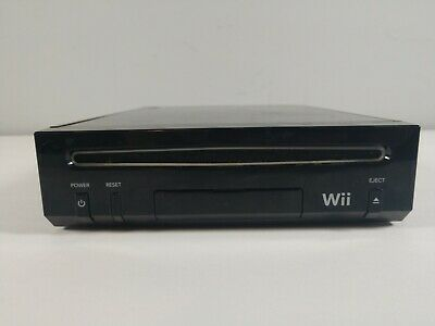 Nintendo Wii Black RVL-101 Console Only - Tested And Works