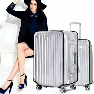 Transparent Travel Luggage Protector Cover Case PVC Waterproof for Suitcase