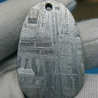 Beautiful Meteorite Pendant Muonionalusta Amulet Pendant Collectible