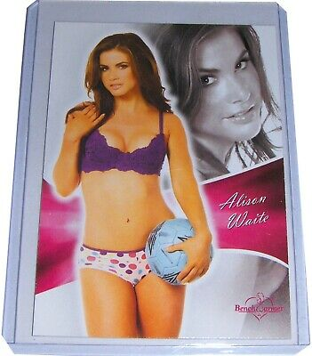 ALISON WAITE 2011 Bench Warmer Bubblegum Card 14, Deep In The Valley NM