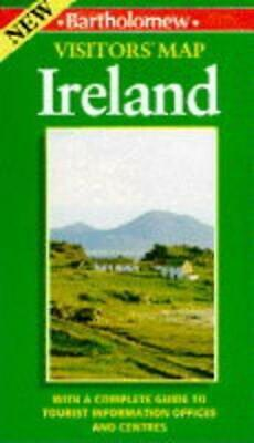 Visitors' Map of Ireland, , Good Condition Book, ISBN 0702832812