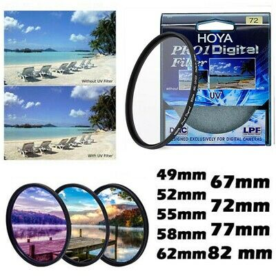NEW Hoya 49mm_82 mm Pro1 UV DMC LP Digital Filter Multicoated Pro 1D