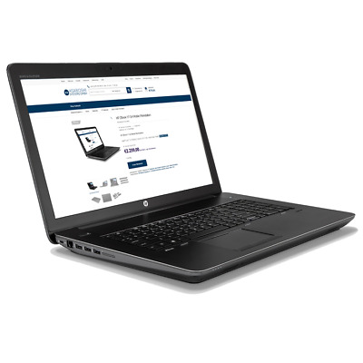 HP ZBOOK 15 G4 Mobile Workstation, Intel Core i7-7700HQ 2 8