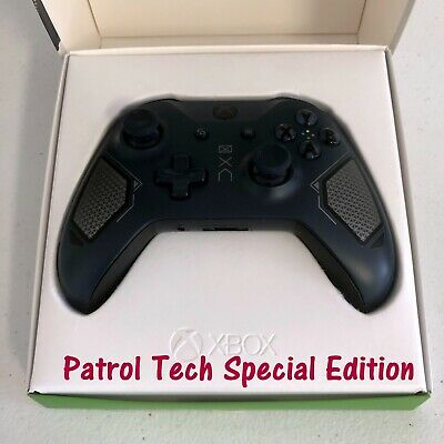 Xbox One Wireless Controller Patrol Tech Special Edition - Blue | Used Modestly