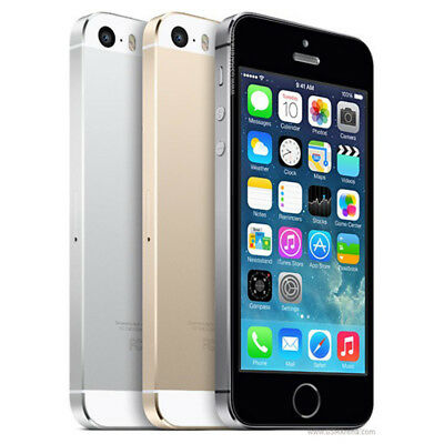 New & Sealed APPLE iPhone 5S 16GB/32GB/64GB Factory Unlocked Smartphone UK
