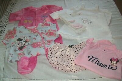 Baby girls clothes Disney Minnie & Winnie 6-9m- combined postage available