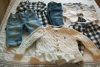 Baby girls clothes Ralph Lauren/M&S/Zara/Gap 6-12m- combined postage available