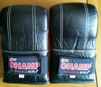 Pro Champ Kickboxing Gloves Powered By Rupla - L/Xl