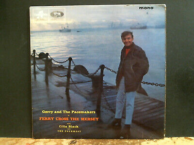 GERRY & THE PACEMAKERS  Ferry Cross The Mersey  LP  UK 1st pressing 1963