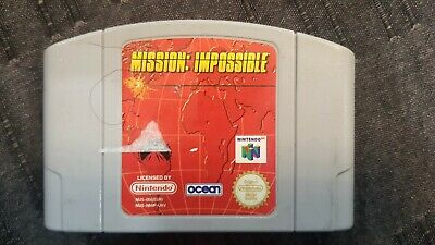 Mission: Impossible - Nintendo 64 Game - N64 PAL - Cartridge