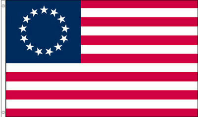 3x5 ft BETSY ROSS Flag 13 Star USA Historic US American Flag Polyester b