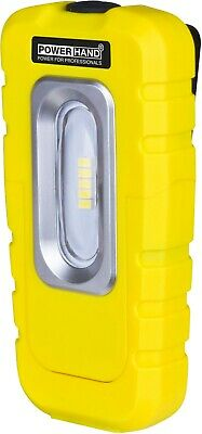 POWERHAND Rechargeable 5 SMD Magnetic Palm Work Inspection Lamp - 300Lm - Yellow