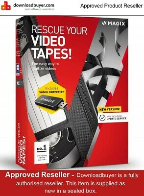 Magix Rescue your Videotapes Version 9 - for Windows