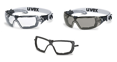 Uvex Pheos S Guard Anti-Fog Scratch-Resistant Spectacles Glasses & Frame
