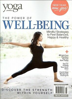 Yoga Journal The Power of Well-Being  (2019) Mindful Strategies-Feel Balanced