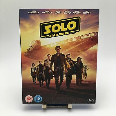 SOLO A STAR WARS STORY BLU RAY HD DVD Movie Video Film