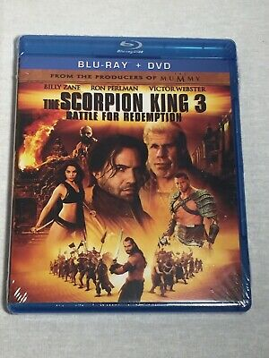 New The Scorpion King 3 Battle For Redemption Blu Ray DVD