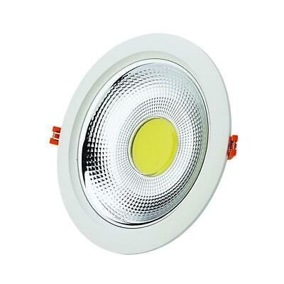 Downlight Spot LED COB Rond 30W Ø228mm - Blanc Froid 6000K - 8000K