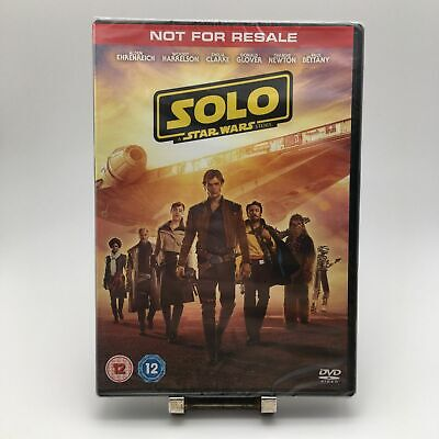 Brand NEW Sealed SOLO A STAR WARS STORY DVD Video Movie Film UK PAL REGION 2