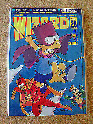 Wizard The Guide to Comics Price Guide #28 Dec 1993 The Simpsons Matt Groening