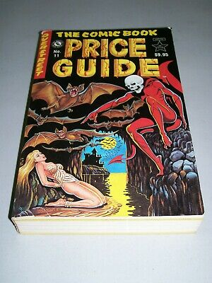Overstreet Comic Book Price Guide #11 1981 L.B. Cole cover