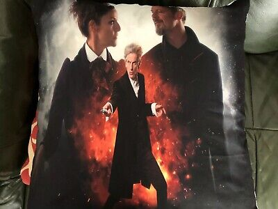 Doctor Who 12th Doctor Missy And  Master Cushion Cover