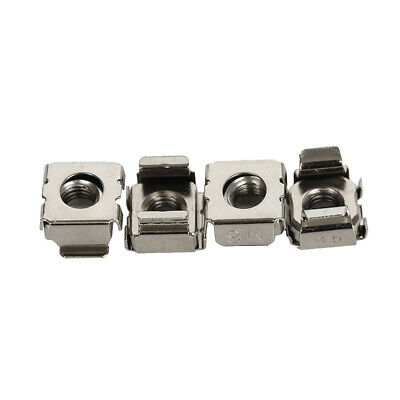 20pcs Steel CAGE NUTS MOUNTING SERVER RACK CABINET PC RACKMOUNT FIXING M6