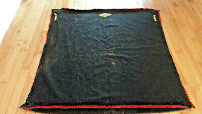 RARE Antique THE NORTH WEST BUFFALO Robe Sleigh Blanket MONTREAL QUEBEC