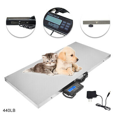 Digital Pet Scale Weighing Scale Large Veterinary Vet Dog Cat Animal Weight Home