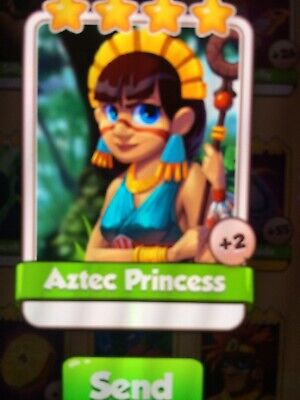 coin master cards aztec princess