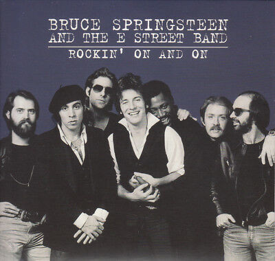 """Bruce Springsteen """" Rockin' On And On , 2 Cd's Digipack"""""""