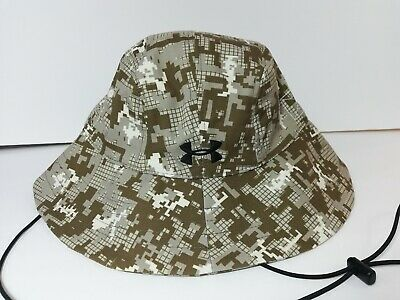 d0d2006be UNDER ARMOUR MEN'S ArmourVent Warrior 2.0 Bucket Hat Camo UPF 30 NWT ...