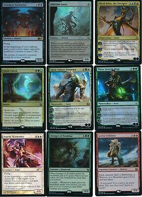 Magic The Gathering Trading Card Foil Cards Lot Of (9) L@@K