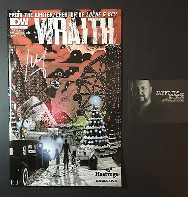 NOS4A2 Wraith #1 Joe Hill Hastings Exclusive  Variant *SIGNED