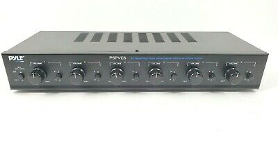 Pyle PSPVC6 6 Channel High Power Stereo Speaker Selector W/Volume Control