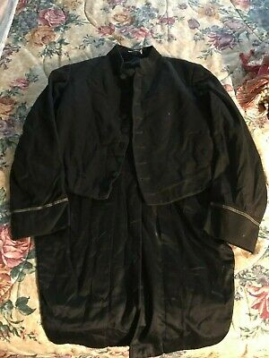 Spanish American war-WWI Navy Maritime Officers dress Frock Coat Jacket