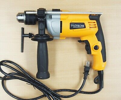 "1/2"" Corded Hammer Impact Drill Variable Speed Heavy Duty"