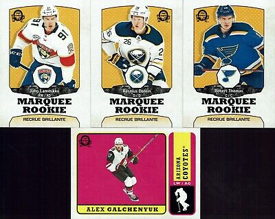 2018-19 O-Pee-Chee Update Retro Parallel (Lot of 7 cards)