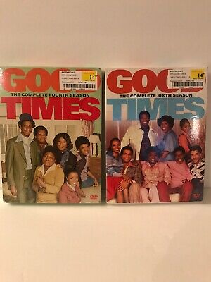 Good Times The Complete Fourth & Sixth Seasons DVD Sets - New & Factory Sealed