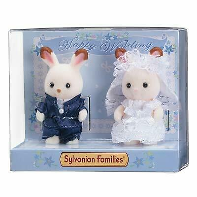 Sylvanian Families CHOCOLATE RABBIT WEDDING Available Only in Official Shop