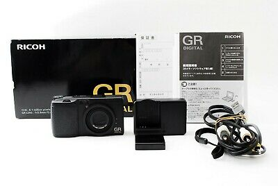 Ricoh GR GR Digital 8.1MP Digital Camera Black w/ Box from Japan [Excellent]